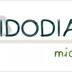 車で描くフォントで「MidoDiary」