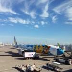 飛行機の風景(1)