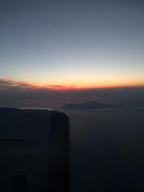 飛行機の風景(2)